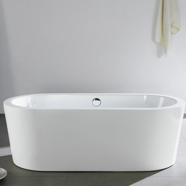 Mandalay 66 x 31 Soaking Bathtub by Pacific Collection