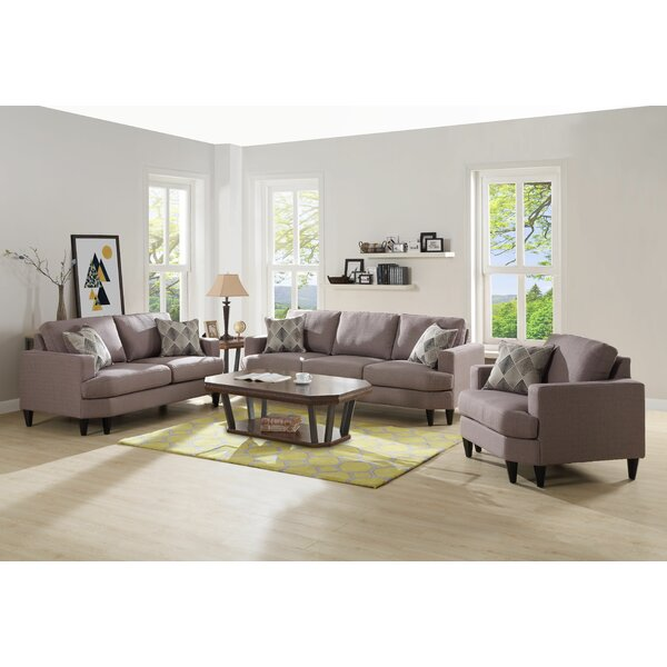 Bedworth Configurable Living Room Set by Brayden Studio