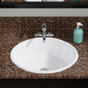 Drop In Sinks Youll Love Wayfair - Oval bathroom sinks drop in