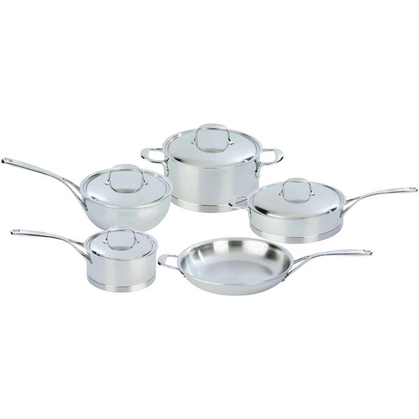 Demeyere Atlantis 9-Piece Stainless Steel Cookware Set by Demeyere