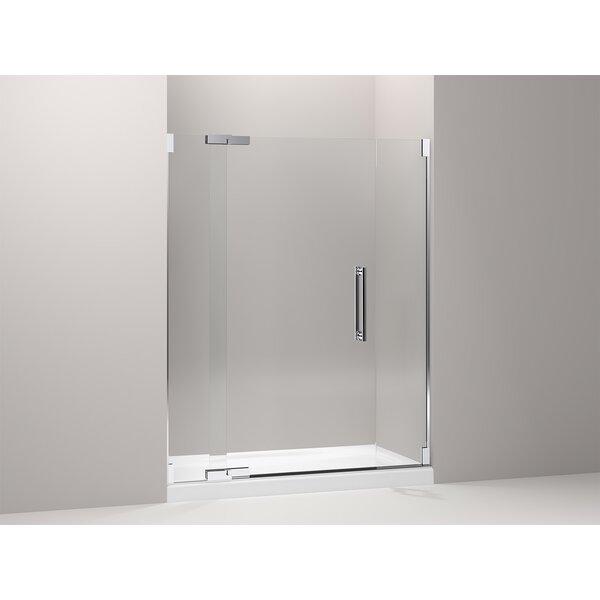 Purist 59.75 x 72.25 Pivot Shower Door by Kohler