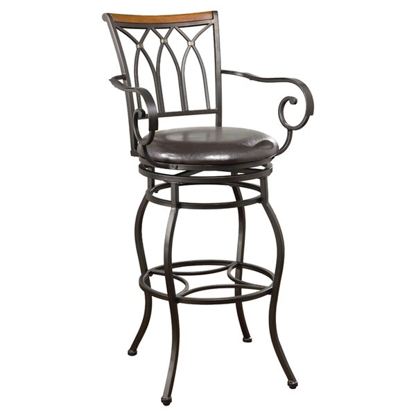 Hackberry 29 Swivel Bar Stool by Wildon Home ®