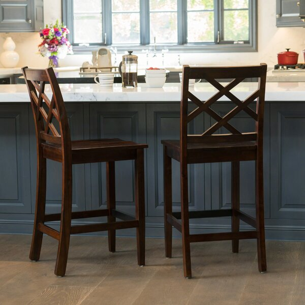 Baylis Bar Stool (Set of 2) by Charlton Home