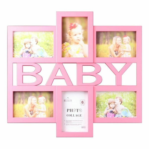 Baby 6 Piece Picture Frame Set by Wee's Beyond