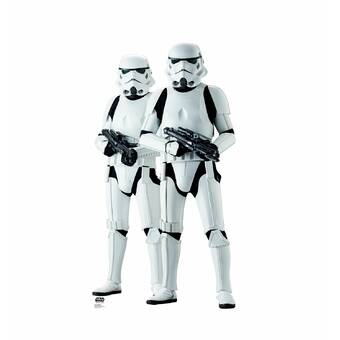 Advanced Graphics Star Wars Rogue One Stormtroppers Life Sized Cardboard Cutout Reviews Wayfair