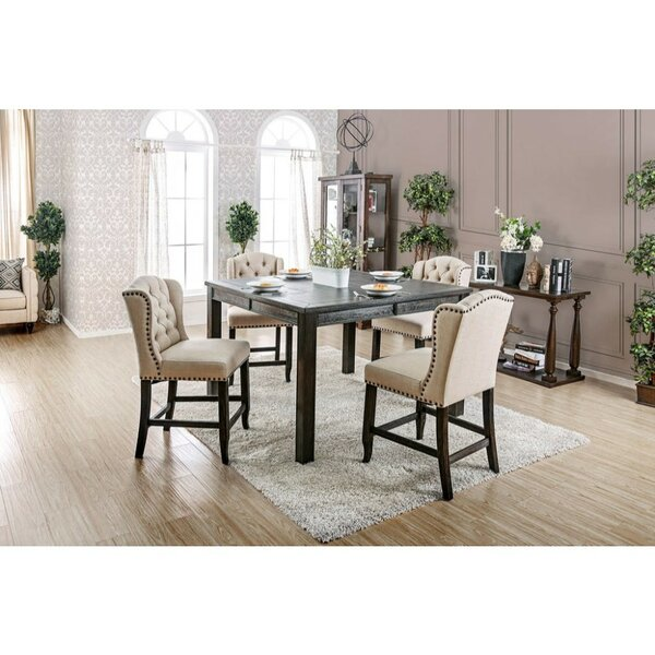 Best #1 Duley 5 Piece Pub Table Set By Gracie Oaks Today Only Sale