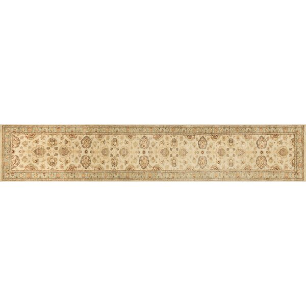 Durden Hand-Knotted Ivory/Blue Area Rug by Darby Home Co