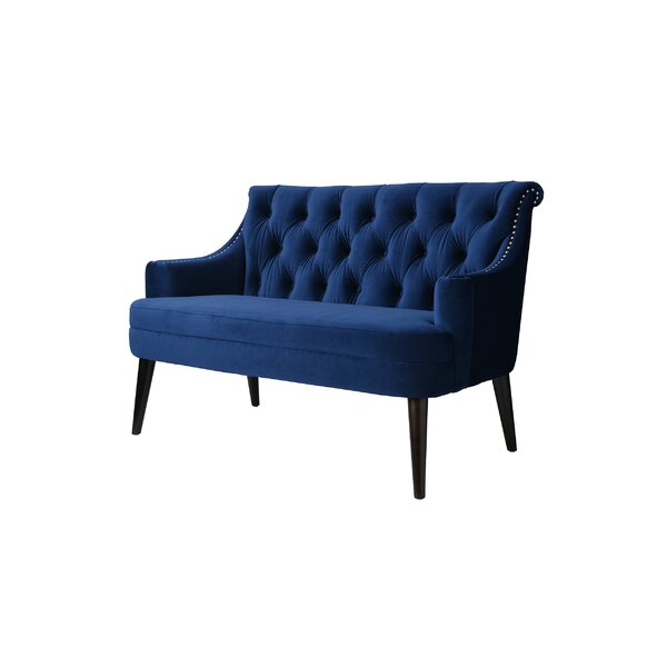Derrell Tufted Settee By House Of Hampton Cheap