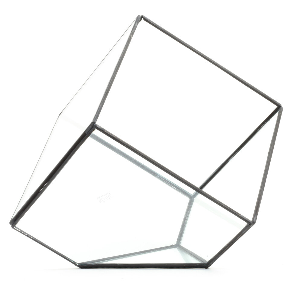 Watch Koyal Wholesale Diamond Geometric Table Glass Terrarium video