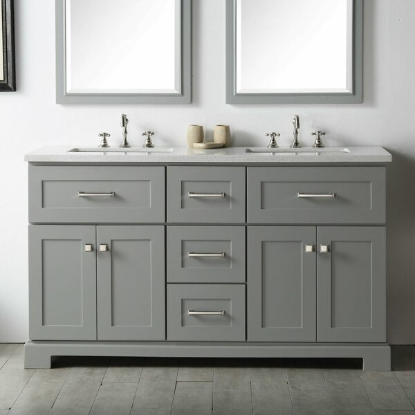 Torbett 60 Double Bathroom Vanity by Gracie Oaks