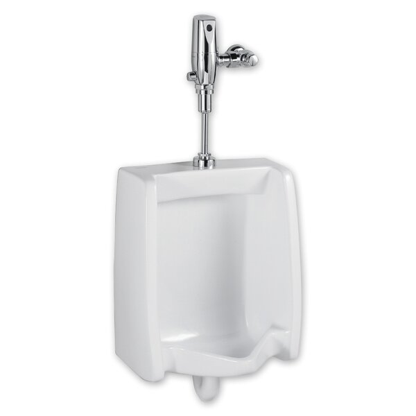 Washbrook 0.5 GPF Selectronic Toilet Flush Valve Toilet Seat System by American Standard