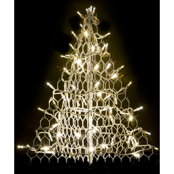 Crab Pot Christmas Tree® with 80 LED Mini Lights by Crab Pot Christmas Trees