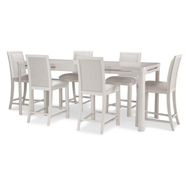 Lantigua Extendable Dining Set by Brayden Studio Brayden Studio