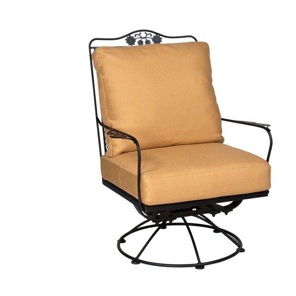 Briarwood Rocking Swivel Patio Chair by Woodard