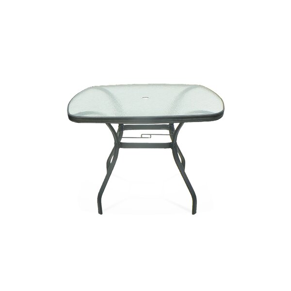 Edge Glass Dining Table by Pride Family Brands