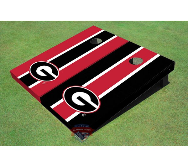NCAA Long Stripe Cornhole Board (Set of 2) by All American Tailgate