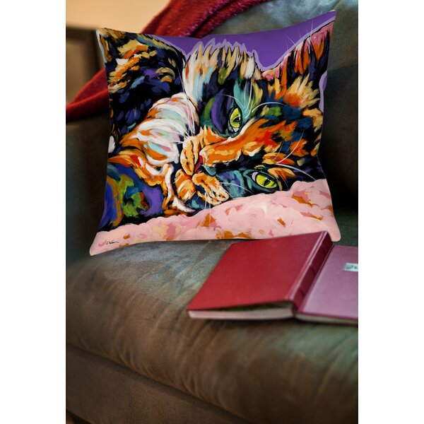 Calico Dreams Printed Throw Pillow by Manual Woodworkers & Weavers