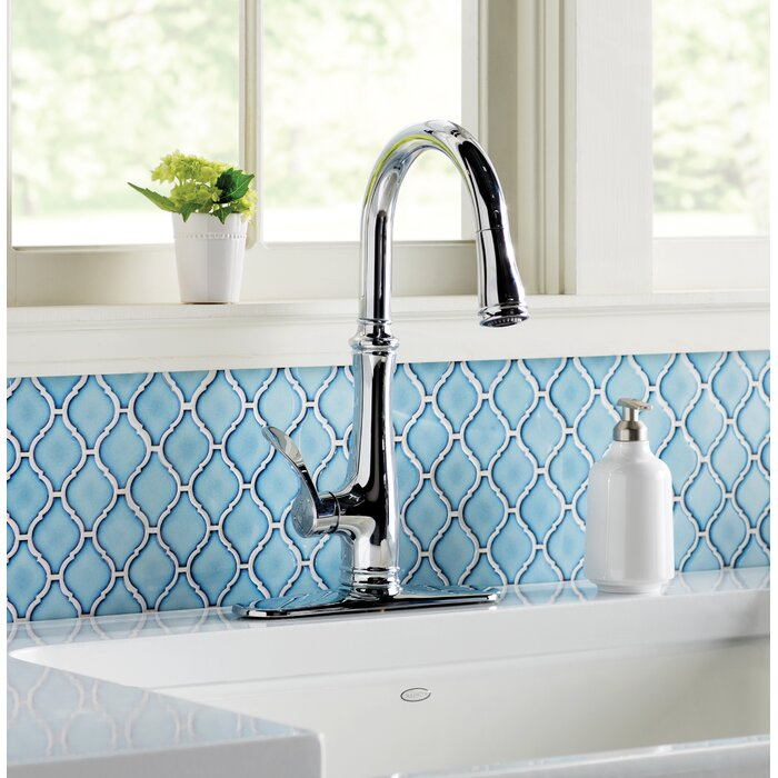 Kohler Bellera Pull Down Touch Single Handle Kitchen Faucet with ...
