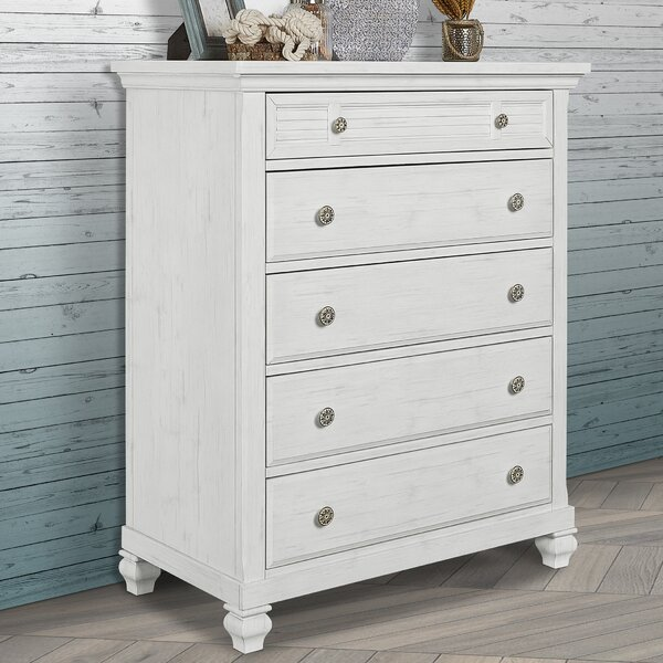 Cape May 5 Drawer Chest by Evolur Evolur