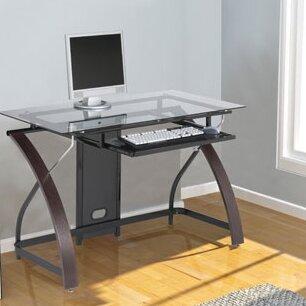 Hille Glass Computer Desk
