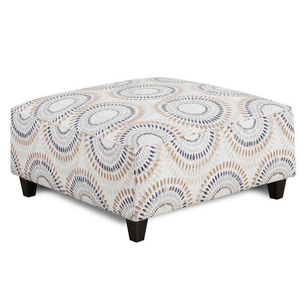 Leach Cocktail Ottoman by Bungalow Rose