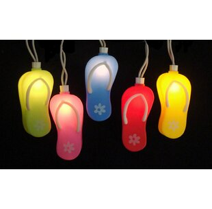 Best Price 10-Light Flip Flop String Lights By Sienna Lighting