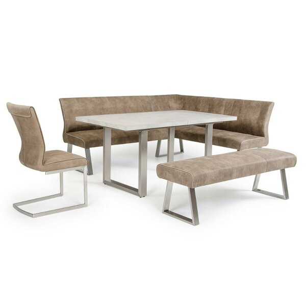 Derryberry L Shaped Upholstered Bench by Orren Ellis