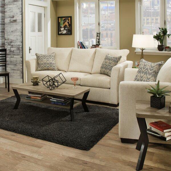 Chestnut Solid Configurable Living Room Set by Winston Porter