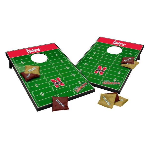 NCAA Cornhole Game Set by Tailgate Toss