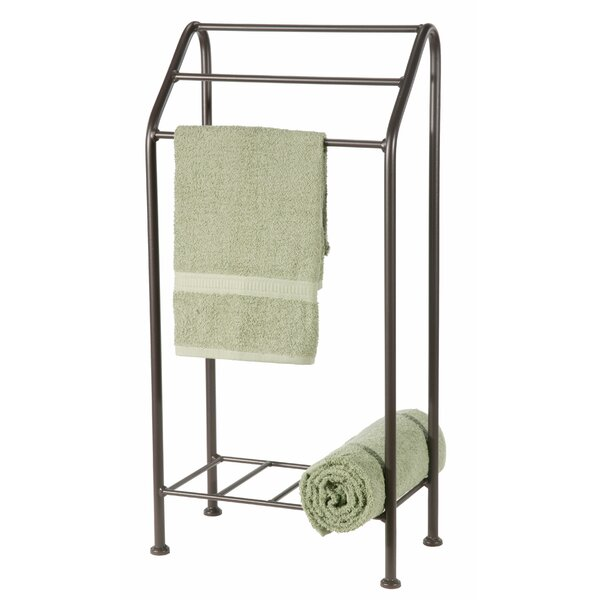 Monticello Free Standing Towel Stand by Stone County Ironworks