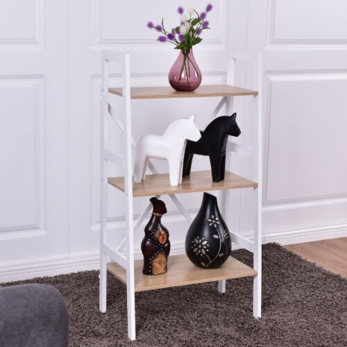 Calloway 3 Tier Ladder Storage Shelves Bookcase by Wrought Studio