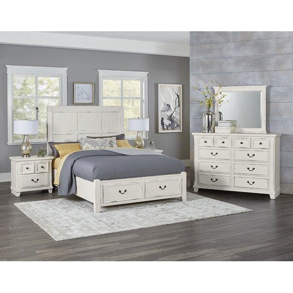 Hanscom Queen Panel Configurable Bedroom Set by Alcott Hill
