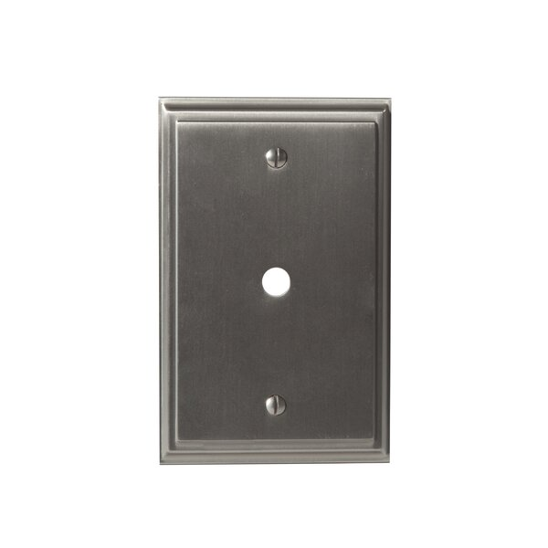 Mulholland Cable Wallplate by Amerock