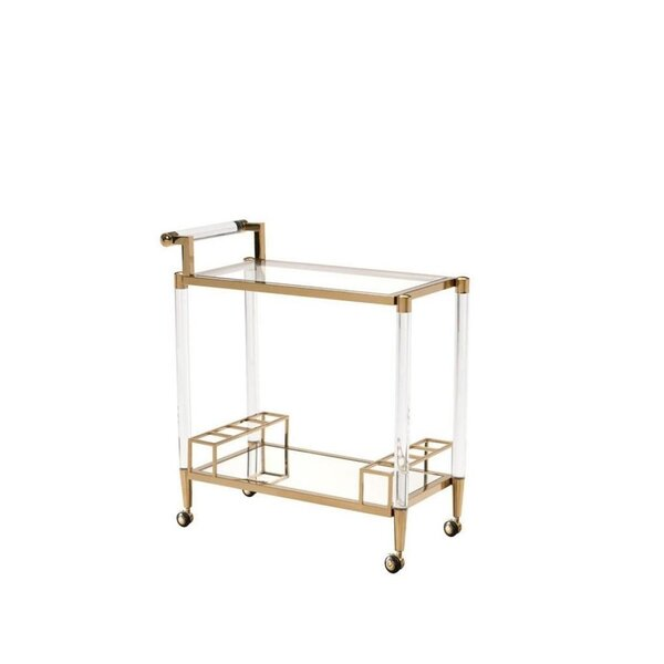 Koenig Bar Cart by Everly Quinn