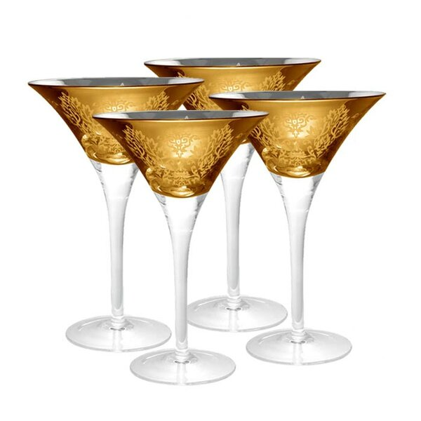 Raymund Martini Glass (Set of 4) by Willa Arlo Interiors