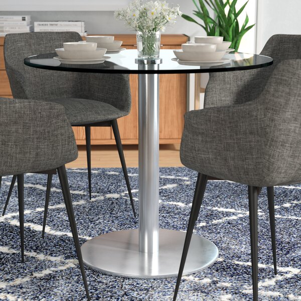 Meyers Bistro Dining Table by Orren Ellis