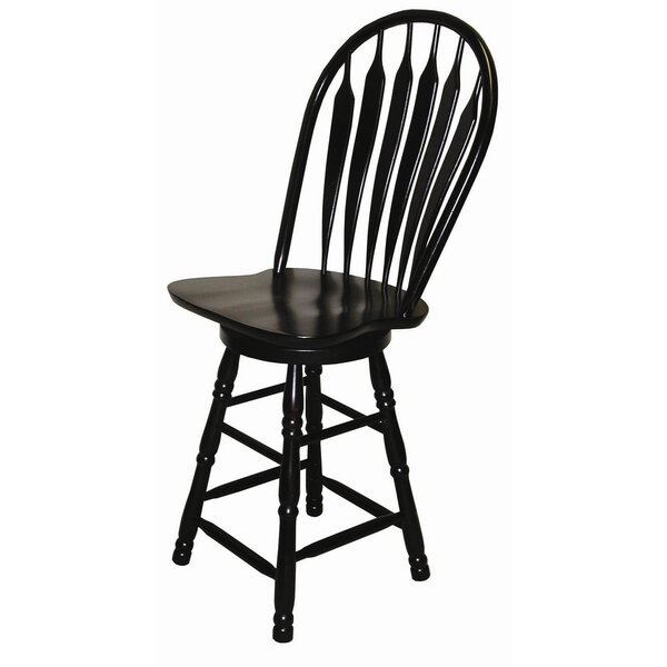 Richards 24 Swivel Bar Stool by Darby Home Co