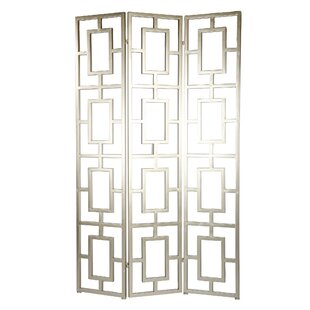 Zacarias Screen 3 Panel Room Divider