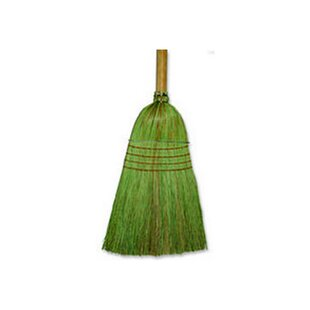 Warehouse Broom in Black and Natural