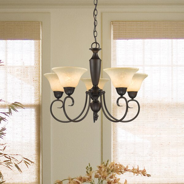 Annabelle 5 Light Chandelier by Wildon Home ®