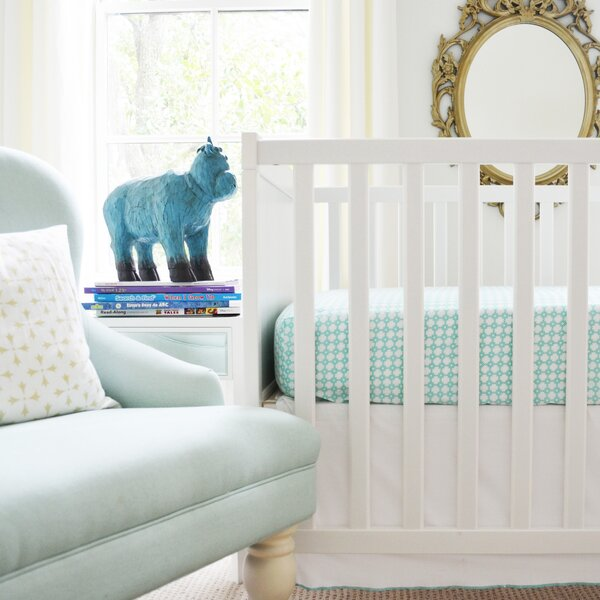 Patterned Fitted Crib Sheet by Owen & Ozzie