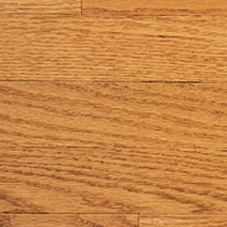 Color Strip 2-1/4 Solid Red Oak Hardwood Flooring in Golden Oak by Somerset Floors