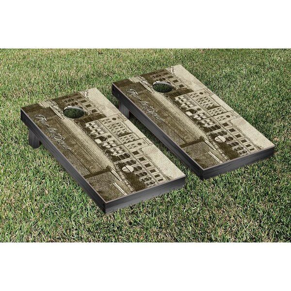 NCAA FIght Song Version Cornhole Game Set by Victory Tailgate