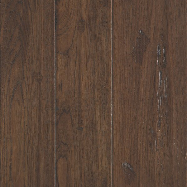 Kearny Random Width Engineered Hickory Hardwood Flooring in Sandy by Mohawk Flooring