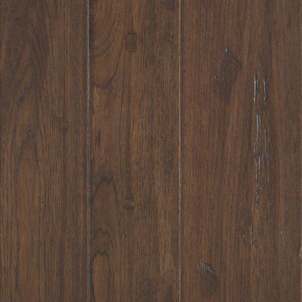 Kearny Random Width Engineered Hickory Hardwood Flooring in Sandy by Mohawk Flooring
