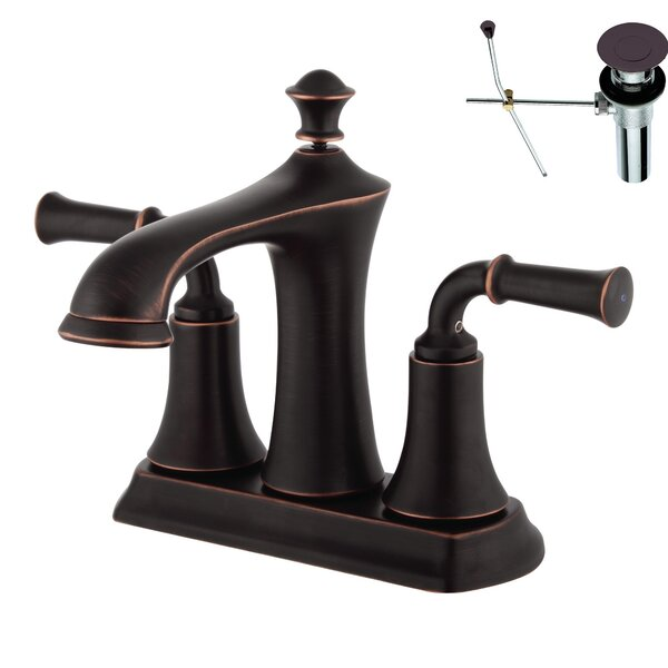 Centerset Bathroom Faucet by Yosemite Home Decor
