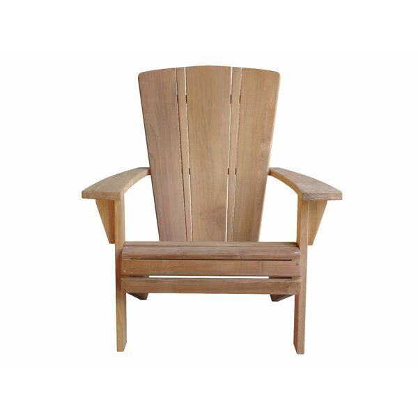 Brindley Santa Fe Teak Adirondack Chair by Foundry Select Foundry Select