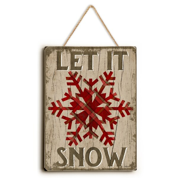 Let It Snow Graphic Art by Loon Peak