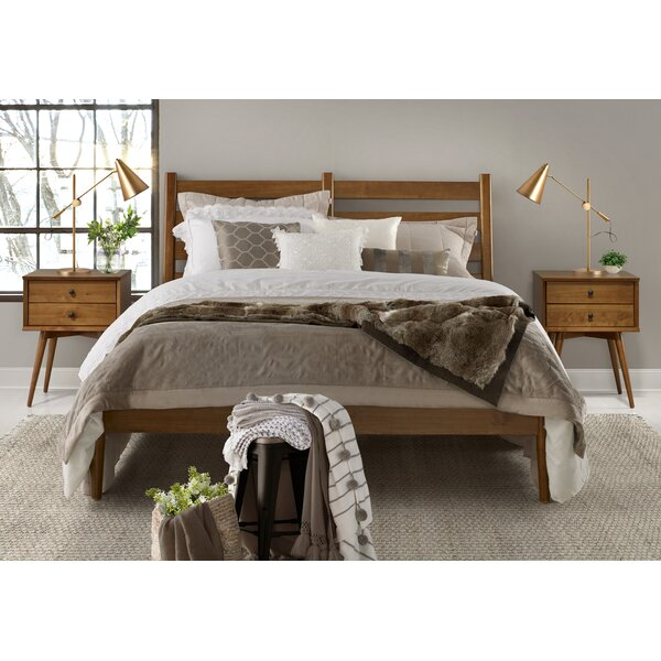 Grady Mid-Century Platform Bed by Modern Rustic Interiors