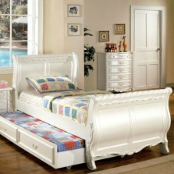 Marysville Fairy Tale Sleigh Bed by Harriet Bee